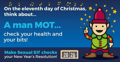A man MOT - check your health and your bits